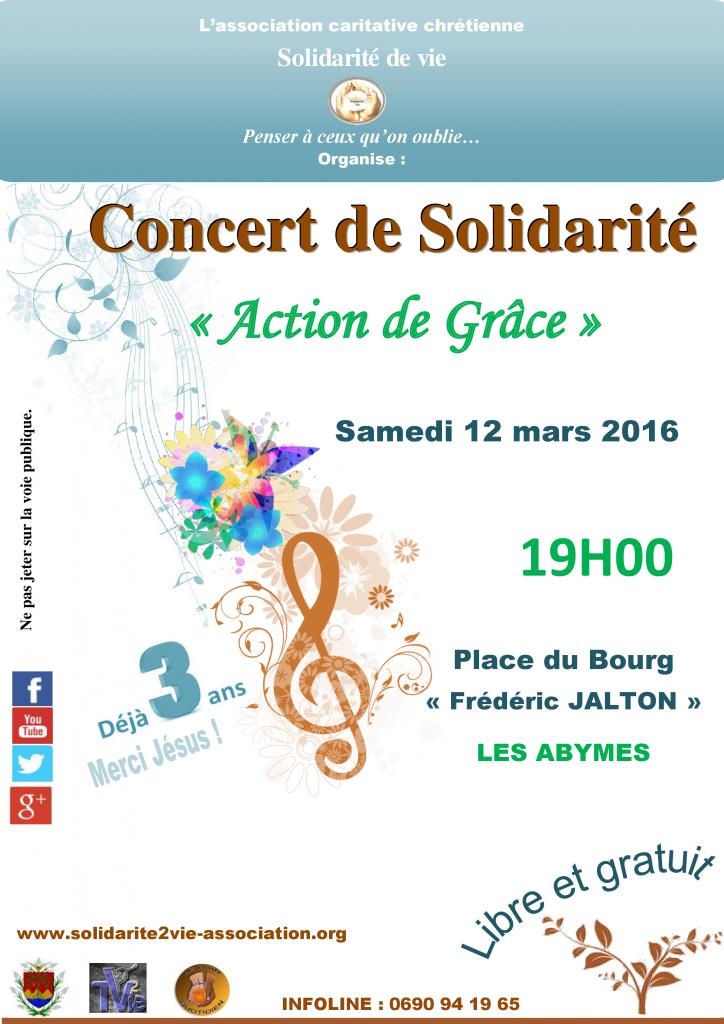 Flyer Concert de solidarité 12 mars 2016