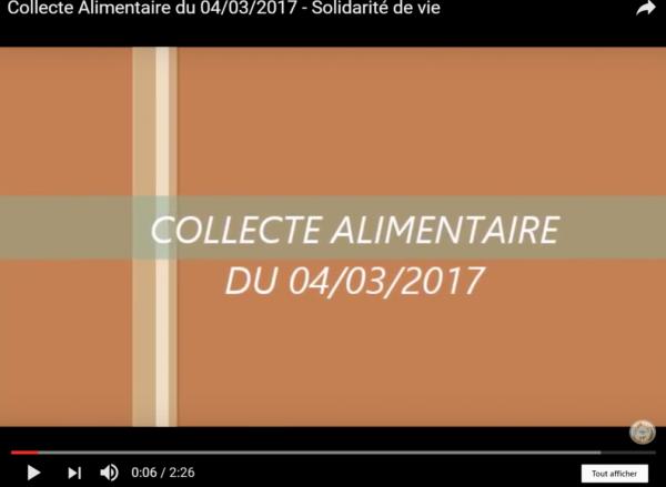 Résultat de la collecte alimentaire du 04/03/2017